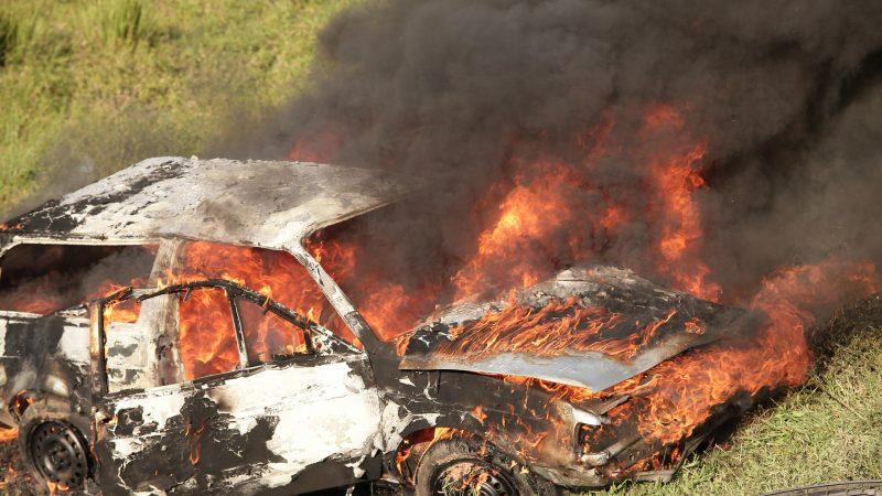 Une nouvelle Tesla « Plaid » prend feu